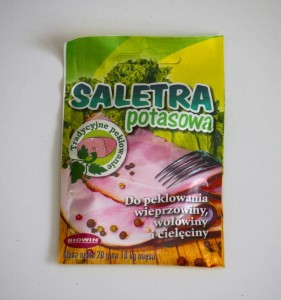 Saletra do mięsa / potasowa 20g